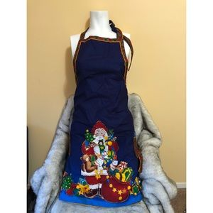 Double Sided Christmas Apron.